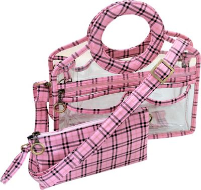 Pink Plaid -  (Currently out of Stock)