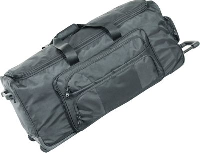 Netpack 30 inch Ultra Deluxe Wheeled Duffel - Black