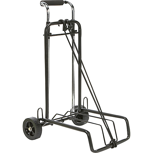 Lewis N. Clark Folding Luggage Cart - Silver