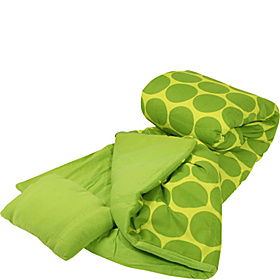 Big Dots - Green Sleeping Bag Big Dots - Green