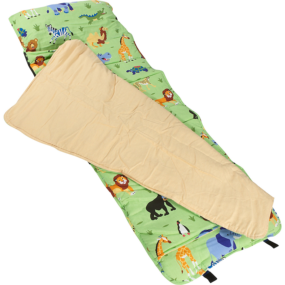 Wildkin Wild Animals Nap Mat - Wild Animals - Travel Accessories, Travel Pillows & Blankets