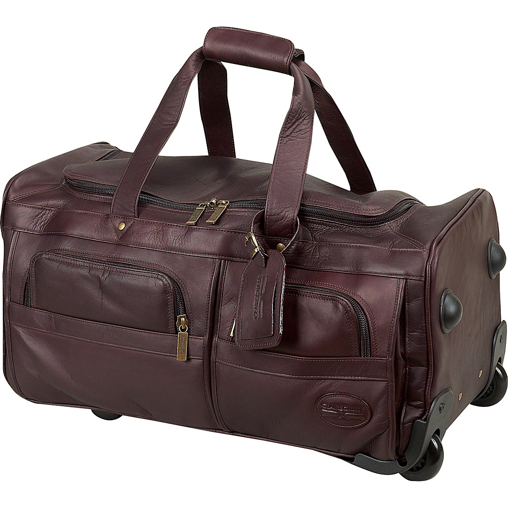 ClaireChase Rolling Duffel - Cafe - Luggage, Softside Carry-On