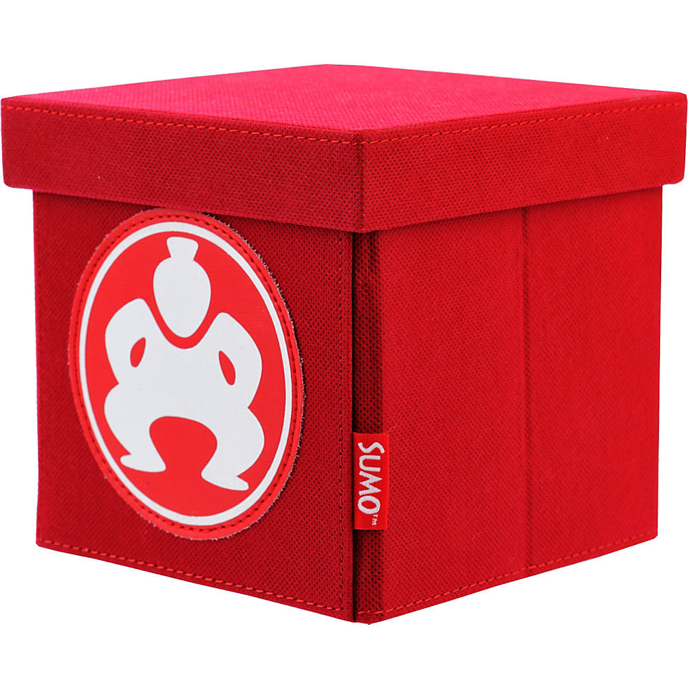 Sumo Sumo Folding Desktop Cube 6 Red