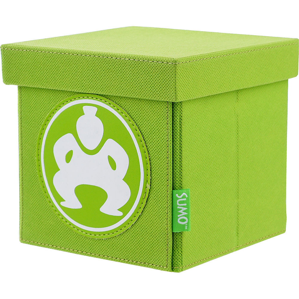 Sumo Sumo Folding Desktop Cube 6 Green