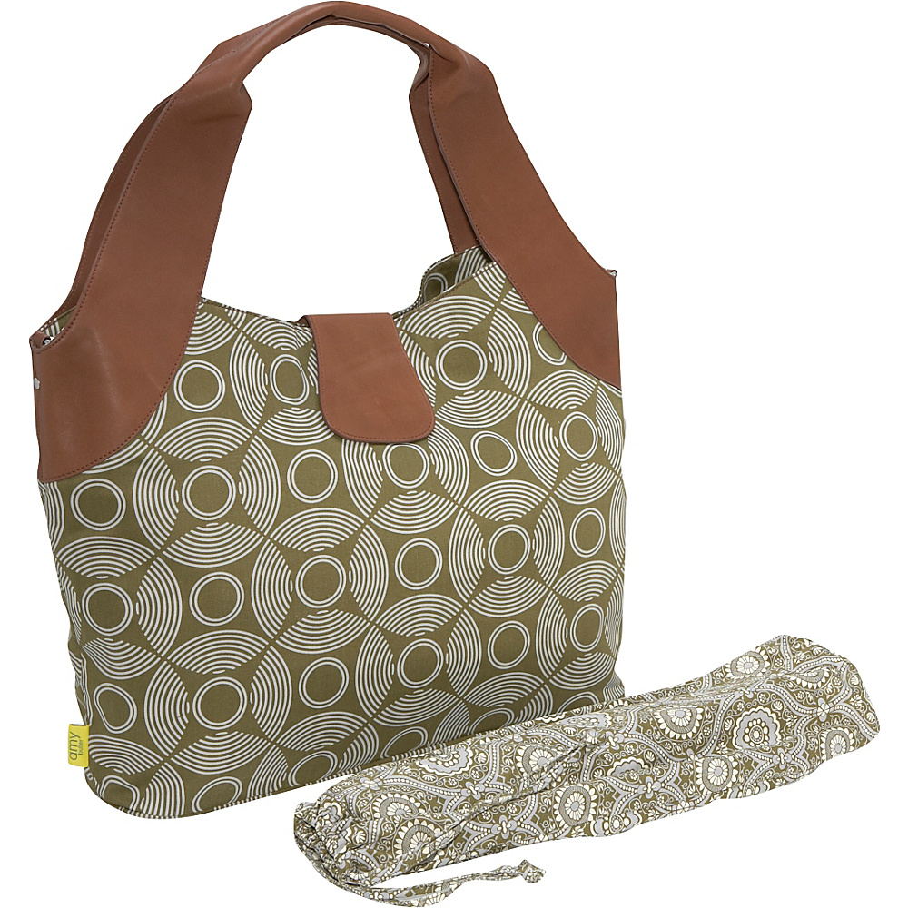 Amy Butler for Kalencom Wildflower Diaper Bag Sun