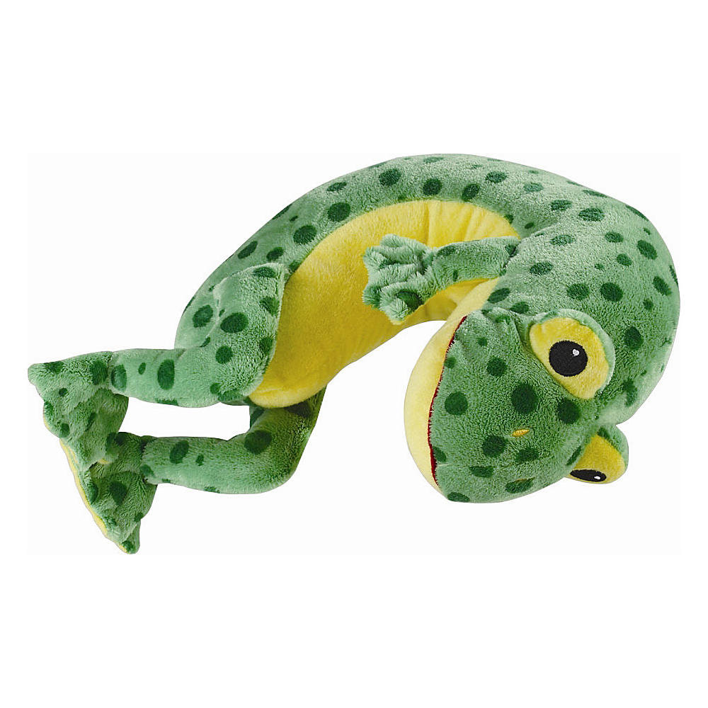 Lewis N. Clark Li'l Lewis Kid's Travel Pillow Frog - Lewis N. Clark Travel Pillows & Blankets