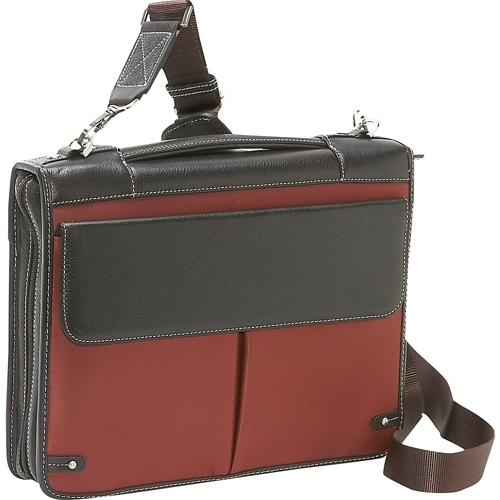 Bellino The Londoner (Deluxe Zipper Padfolio with 3 - Work Bags & Briefcases, Business Accessories