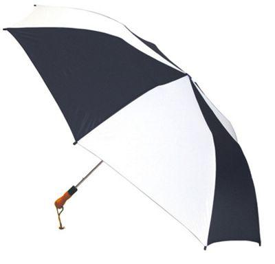 ShedRain Jumbo Auto Umbrella -Wood Handle - White/Black