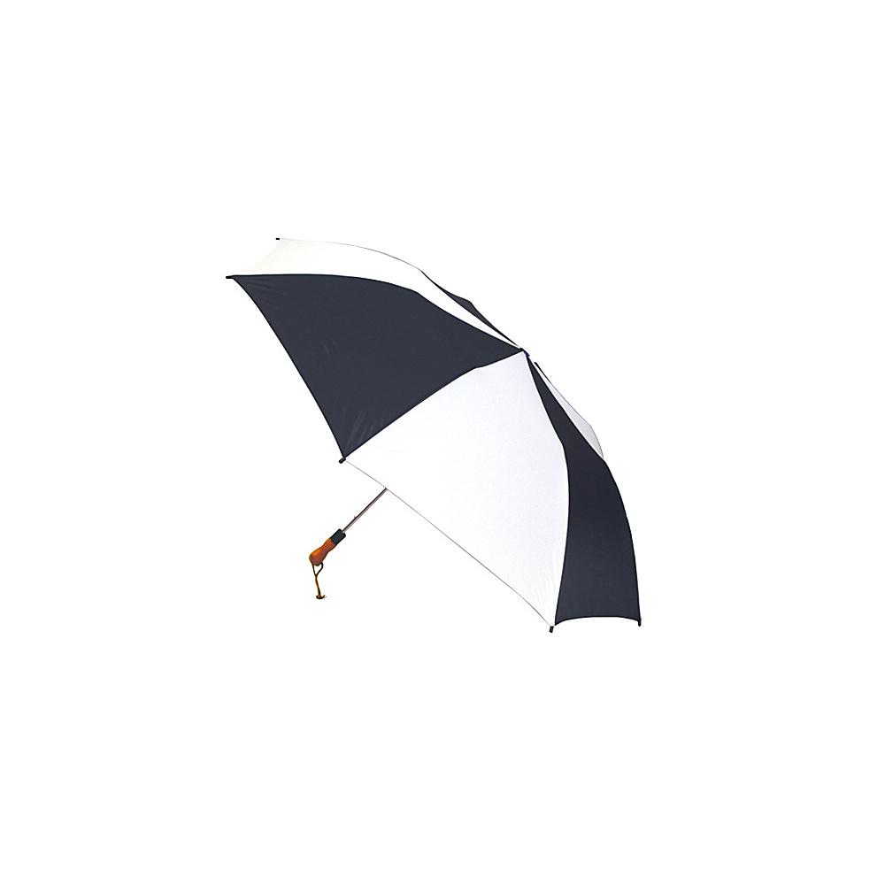 ShedRain Jumbo Auto Umbrella -Wood Handle - White/Black - Travel Accessories, Umbrellas and Rain Gear