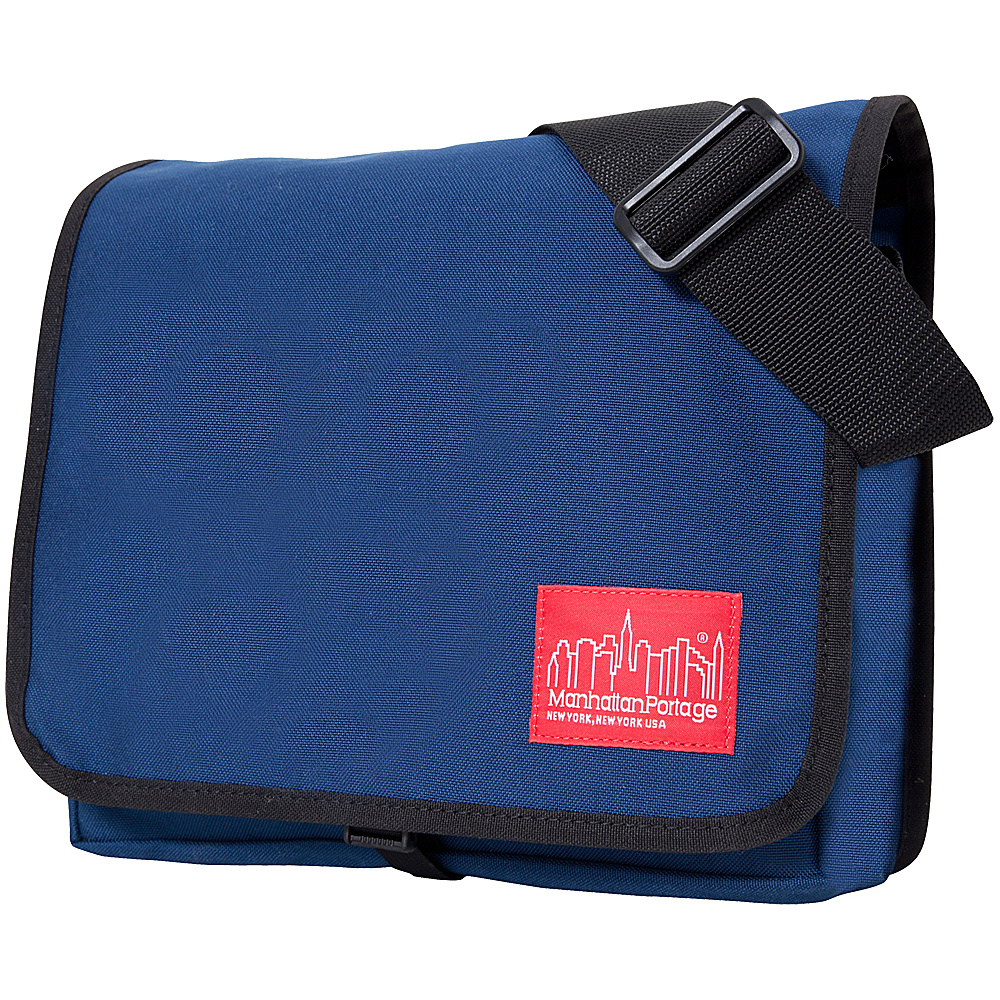 Manhattan Portage DJ Bag (Small) - Navy - Work Bags & Briefcases, Messenger Bags