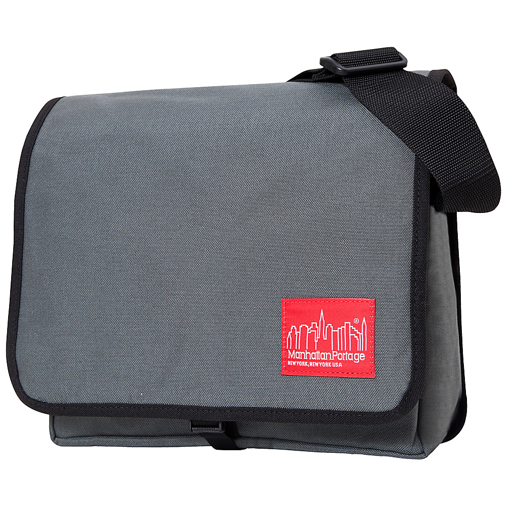 Manhattan Portage DJ Bag (Small) - Gray - Work Bags & Briefcases, Messenger Bags