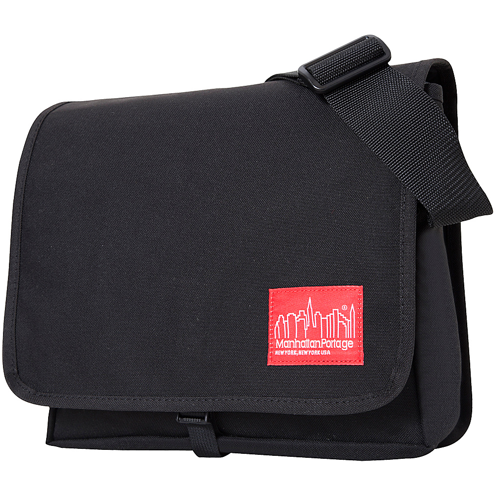 Manhattan Portage DJ Bag (Small) - Black - Work Bags & Briefcases, Messenger Bags