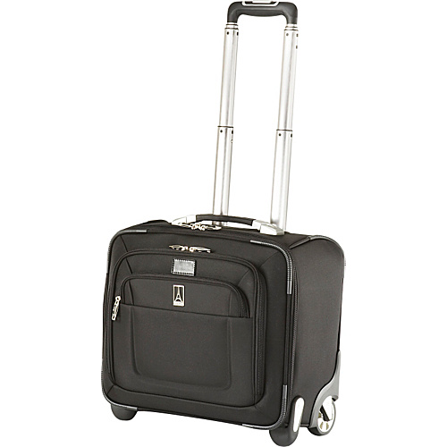 Travelpro Crew 8 Rolling Tote Black - Travelpro Luggage Totes and Satchels