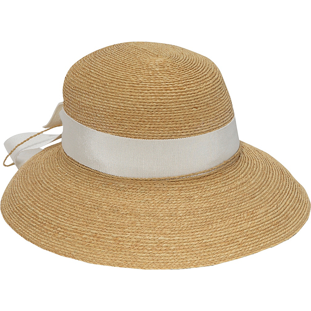 Helen Kaminski Newport Standard Natural pearl ribbon Helen Kaminski Hats Gloves Scarves