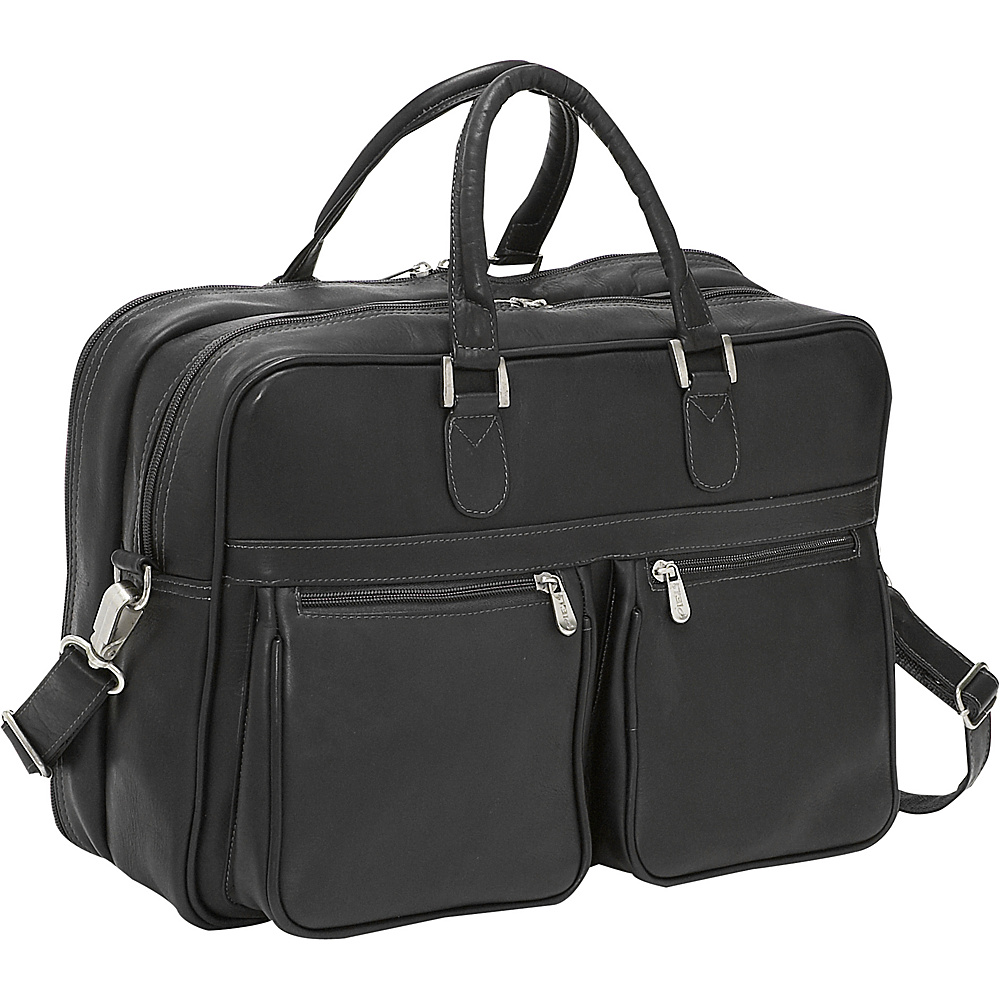 Piel Checkpoint Friendly Laptop Brief/Overnighter - Work Bags & Briefcases, Non-Wheeled Business Cases