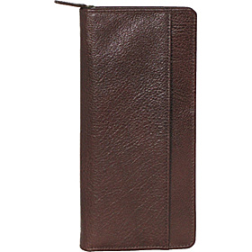 Travel Document Wallet Brown Venetian