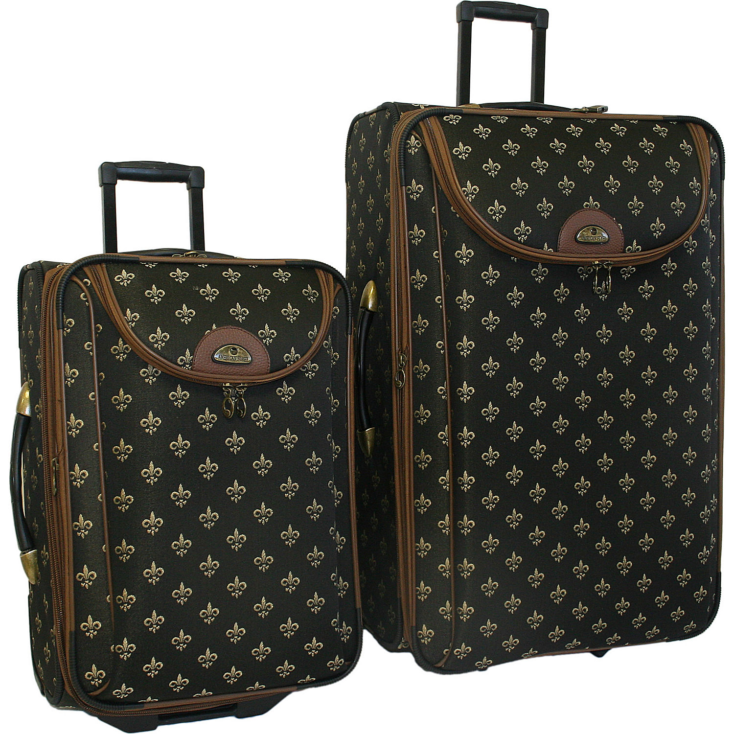 American Flyer Fleur De Lis 2 Piece Luggage Set Ebags Com