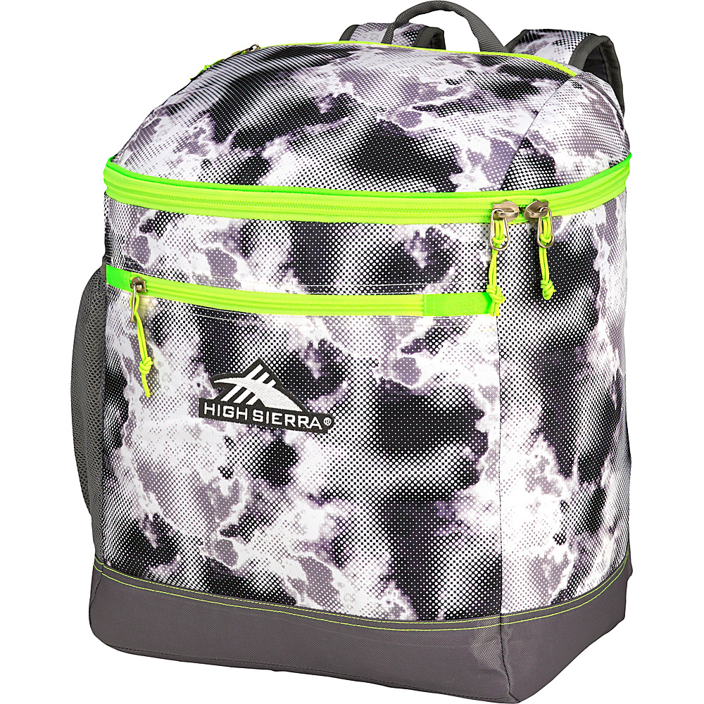 High Sierra Bucket Boot Bag Thunderstruck/Charcoal/Zest - High Sierra Ski and Snowboard Bags
