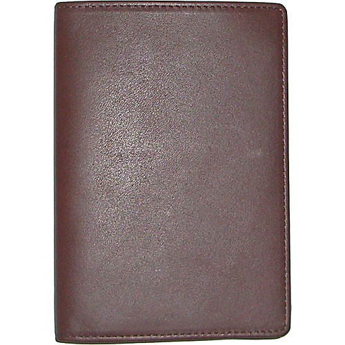 Boconi Collins Calf Passport Case - Espresso Calf