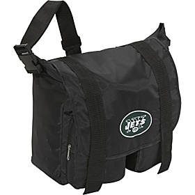 New York Jets Sitter Diaper Bag Black