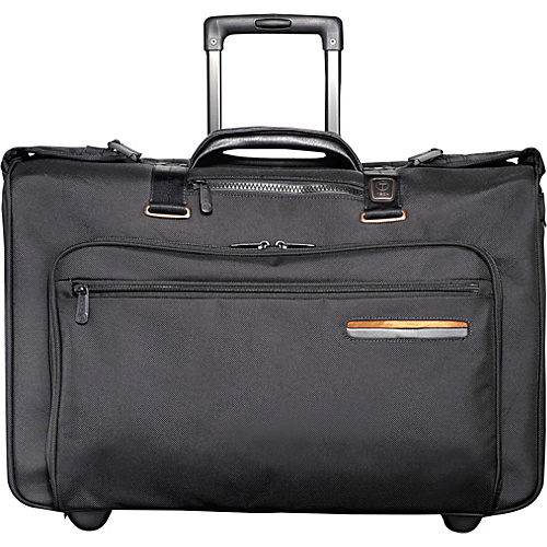 Tumi T-Tech Data Kahn Wheeled Carry-On Garment Bag Black - Tumi Garment Bags
