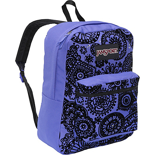 JanSport Super FX Series Purple Sky/Black Freespirit - JanSport School & Day Hiking Backpacks - Backpacks, School & Day Hiking Backpacks