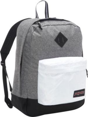 Jansport Backpacks Black And White Fb8Gt3Wr