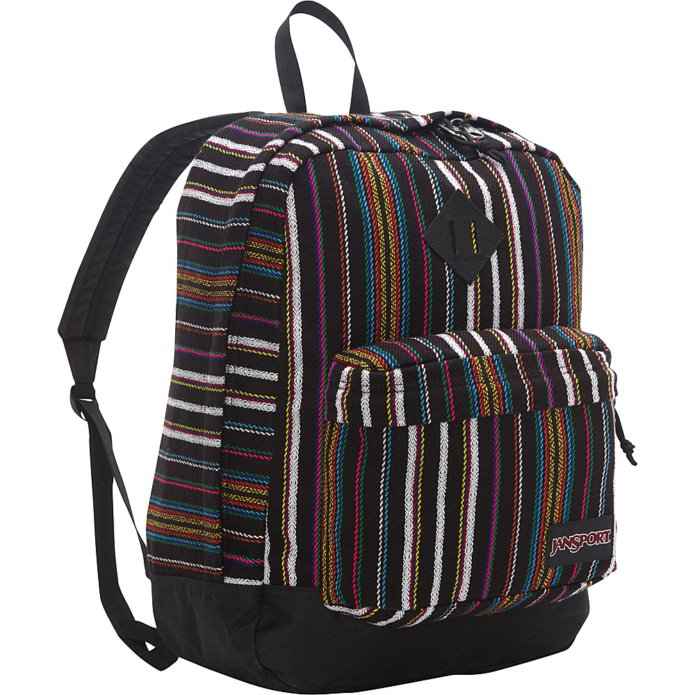 JanSport Super FX Series Backpack Multi Surf Stripe - JanSport School & Day Hiking Backpacks - Backpacks, School & Day Hiking Backpacks