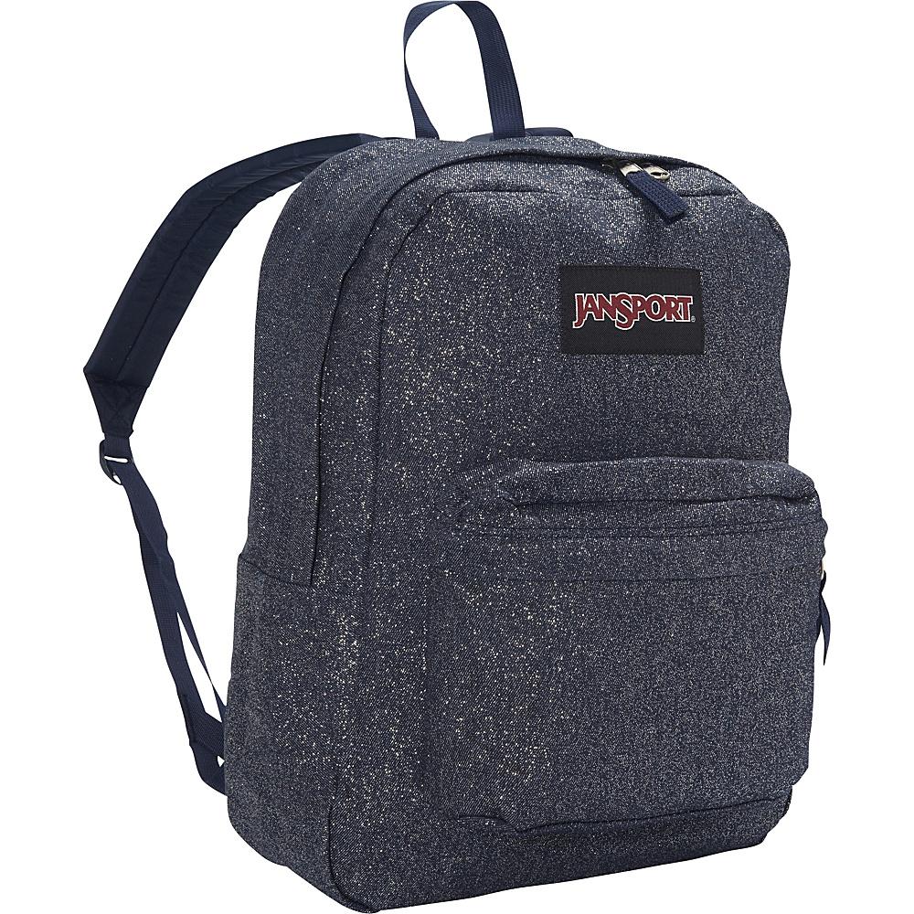 JanSport Super FX Series Backpack Silver Sparkle Twill - JanSport School & Day Hiking Backpacks - Backpacks, School & Day Hiking Backpacks