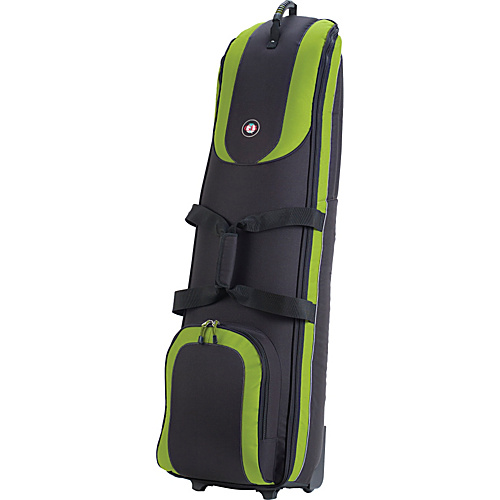 Golf Travel Bags Roadster 3.0 - Black/Lime