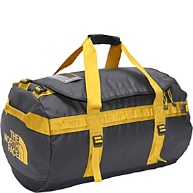 Base Camp Duffel Medium Asphalt Grey/Leopard Yellow