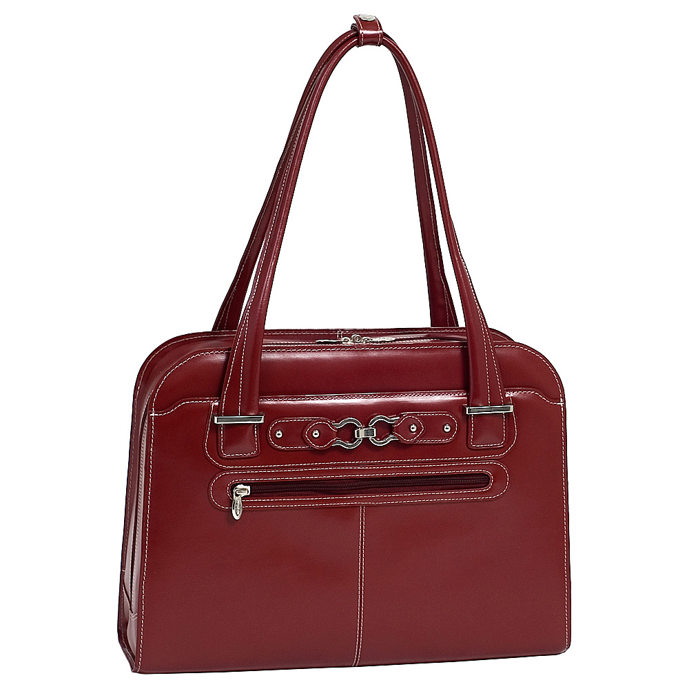 McKlein USA W Series Oak Grove 15 Laptop Tote Red - McKlein USA Womens Business Bags - Work Bags & Briefcases, Women's Business Bags