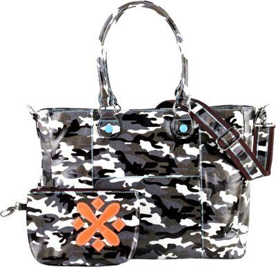 Urban Junket t.o.t.e. Laptop Tote 15 inch Grey Camouflage - Urban Junket Women's Business Bags