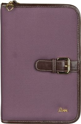 Protec  inchLove inch Small/Thinline Book/Bible Cover - Mauve