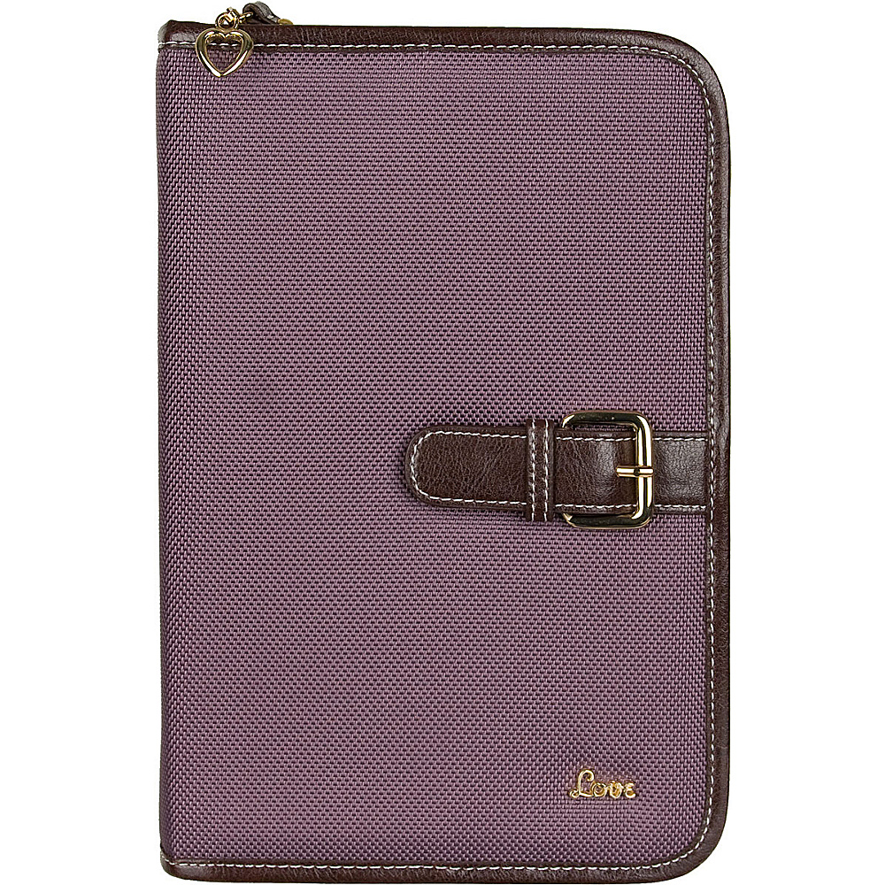 "Protec ""Love"" Small/Thinline Book/Bible Cover - Mauve"