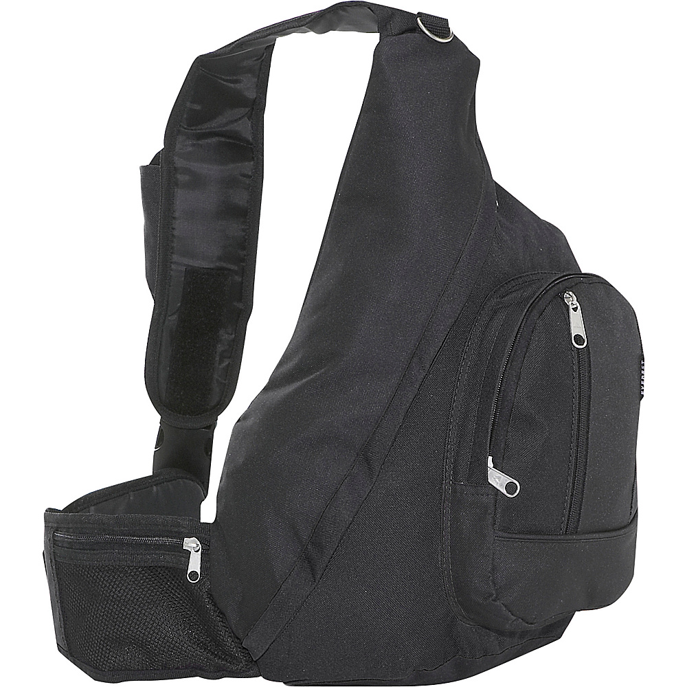 Everest Sling Backpack - Black
