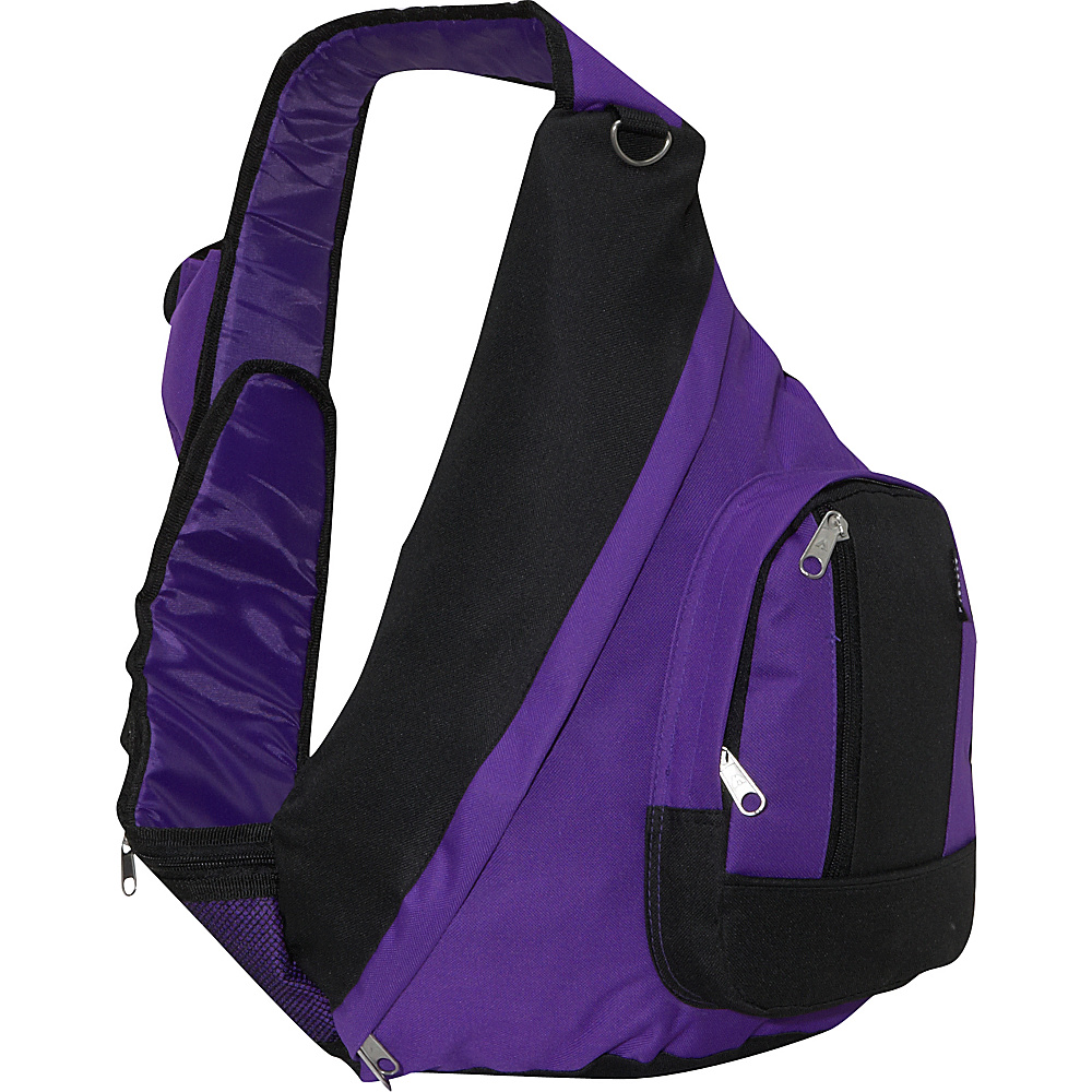 Everest Sling Backpack - Dark Purple - Backpacks, Slings