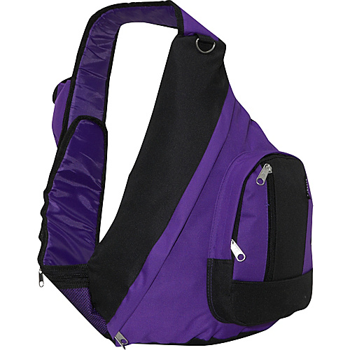 Everest Sling Backpack - Dark Purple