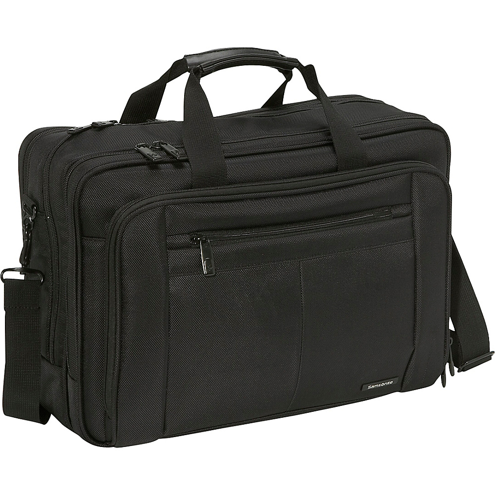 Samsonite Classic Three Gusset Lg Toploader - Black - Work Bags & Briefcases, Non-Wheeled Business Cases