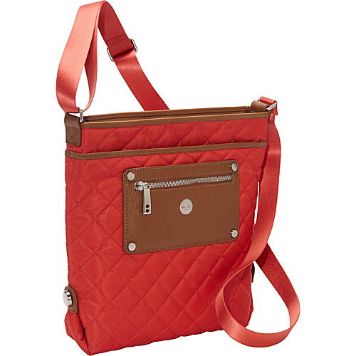 Knomo Silvi Cross Body Terracotta - Knomo Fabric Handbags