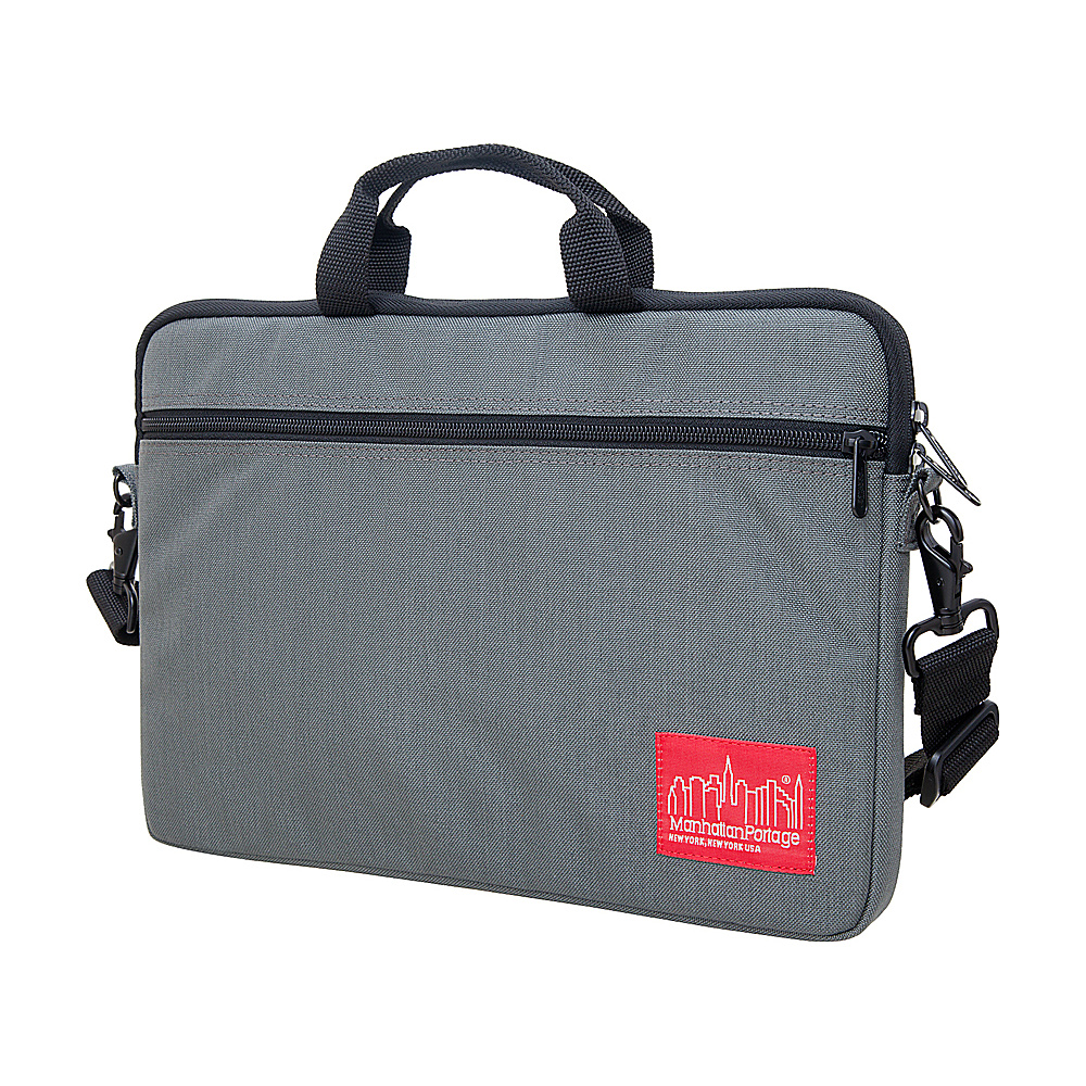 Manhattan Portage Convertible Laptop Bag (SM) - Gray - Technology, Electronic Cases