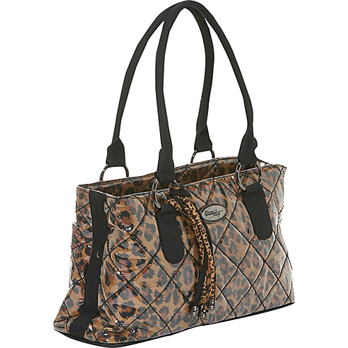 Donna Sharp Reese Bag, Large Leopard - Tote