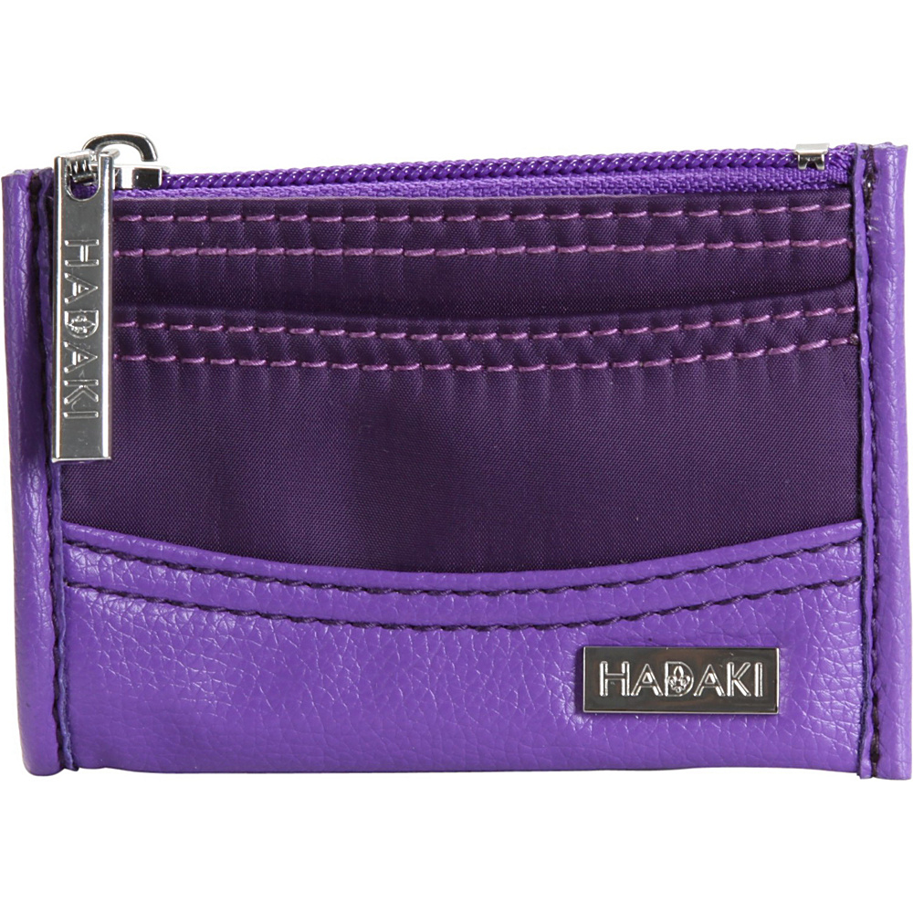 Hadaki Key Purse - Plum