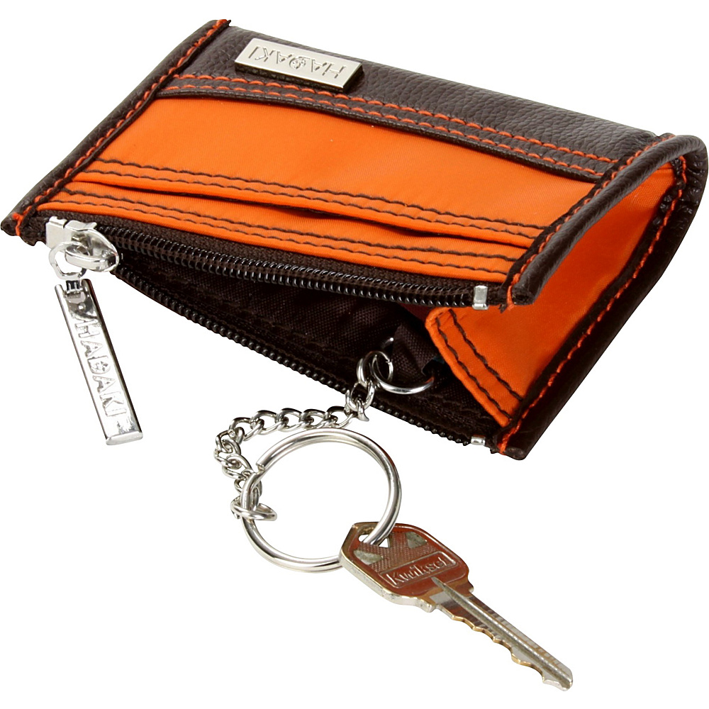 Hadaki Key Purse - Chocolate