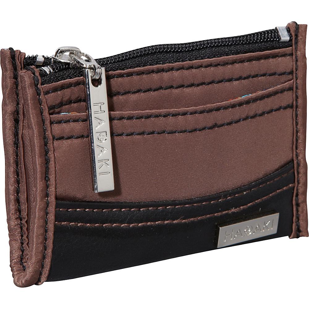 Hadaki Key Purse Chocolate/Black - Hadaki Womens Wallets - Women's SLG, Women's Wallets