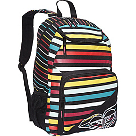 Shadow View Backpack Black Multi