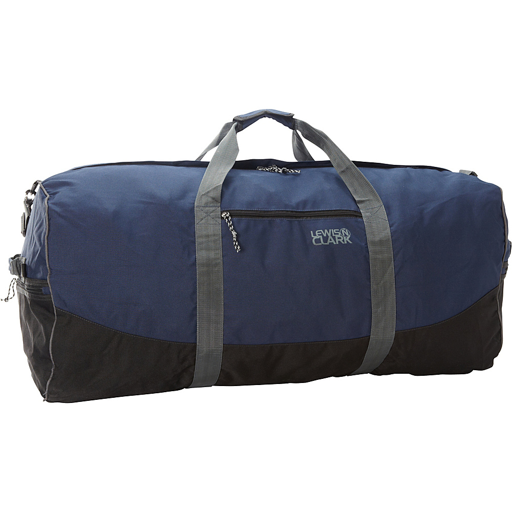 Lewis N. Clark Uncharted Duffel Bag - Large - Navy - Luggage, Rolling Duffels