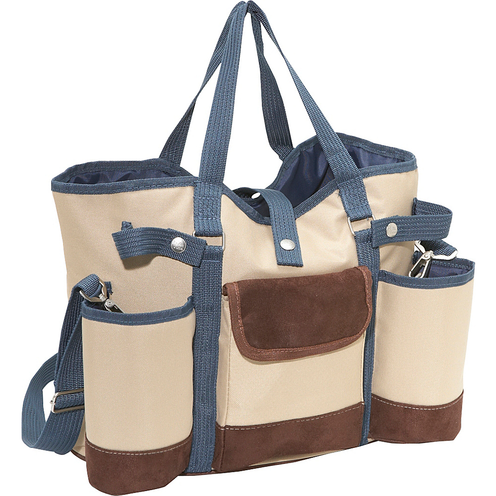 Picnic Time Wine Country Tote Tan 112
