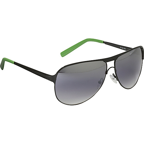 Rocawear Sunwear Modified Aviator Sunglasses - Black
