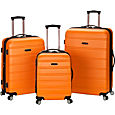 Rockland Luggage 3 Piece Carnival Hardside Spinner Set Luggage